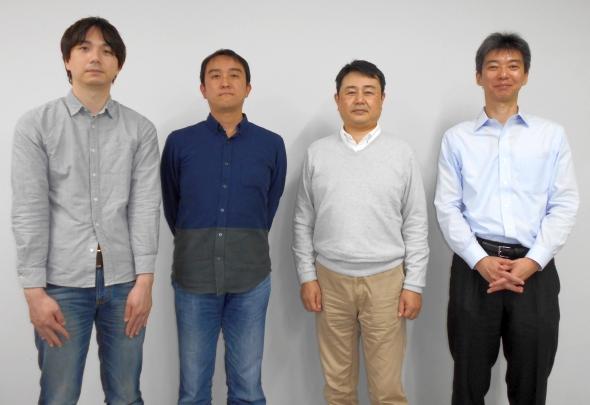PFUのソフトウェアRAIDの開発メンバー