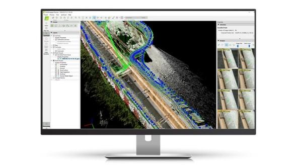 撮影画像は「Pix4Dmapper」でも処理できる