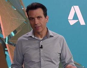 Autodesk 社長 兼 CEOのアンドリュー・アナグノスト(Andrew Anagnost)氏