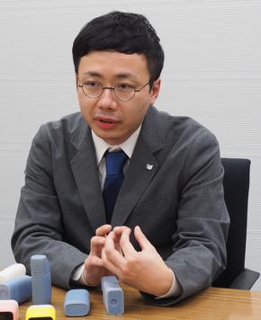 デザインを担当したキヤノン 総合デザインセンター 保刈祐介氏