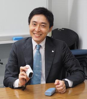 事業企画を担当したキヤノン イメージコミュニケーション事業本部 ICB事業統括部門 課長代理の島田正太氏