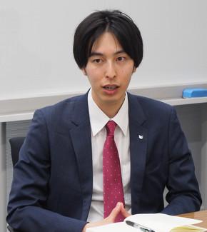 マーケティングを担当したキヤノンマーケティングジャパン コンスーマビジネスユニット コンスーマ商品企画本部の安見祐太氏