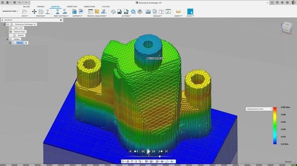 積層シミュレーションエクステンションの画面イメージ