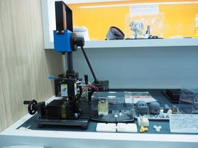 Rigid 10K Resinで造形した射出成形用樹脂型と成形品(2)
