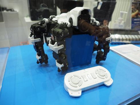 「Mark Two」で主要部品のほとんどを造形したシマノの観測ロボット「Loiter」