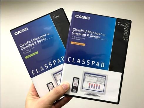 カシオ計算機のディスク認証型の関数電卓ソフトウェア