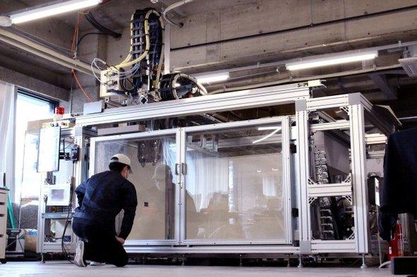 12フィートコンテナサイズの大型3Dプリンタの最新機「EXF-12」