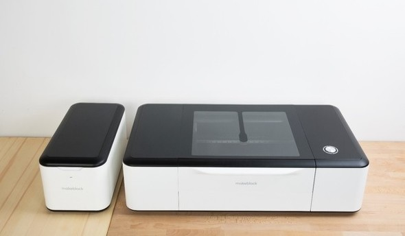 デスクトップ型レーザーカッター「Laserbox」