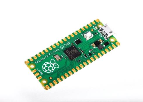 「Raspberry Pi Pico」の外観
