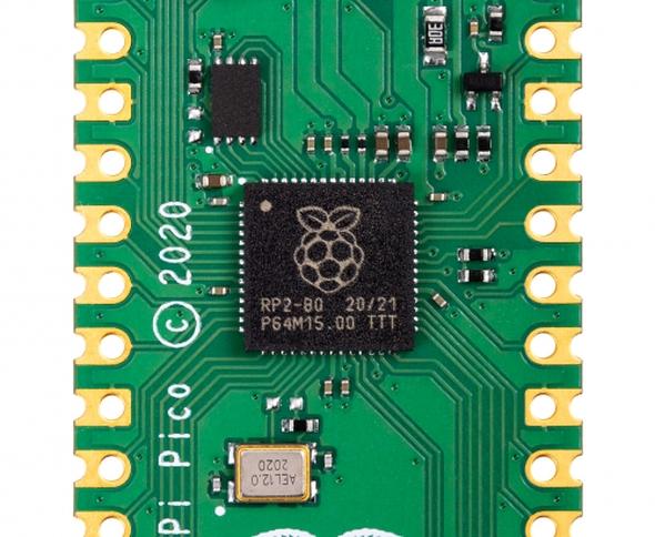 「RP2040」のパッケージ