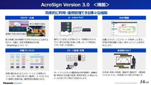「AcroSign 3.0」の機能