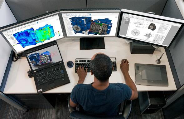Fusion 360では、設計者や機械エンジニアなどさまざまな部門間でデータを共有し、使用できます