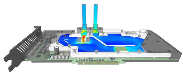 Ansys Discoveryは流体と固体の熱挙動を簡単に予測する機能を搭載