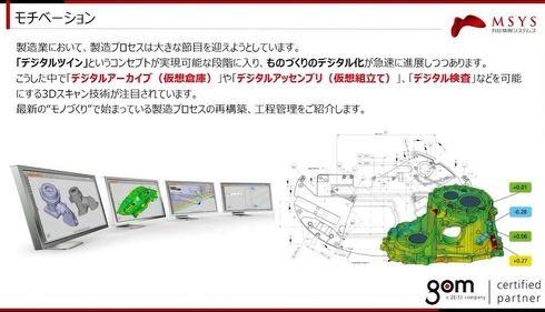 3つの「デジタル○○」を実現する3Dスキャナーの活用
