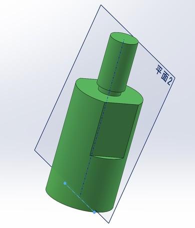 荷重の方向を設定するために任意の平面を挿入