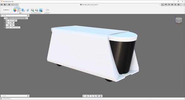 Fusion 360でレンダリング処理を施したドバイ警察の「SPS-AMV」