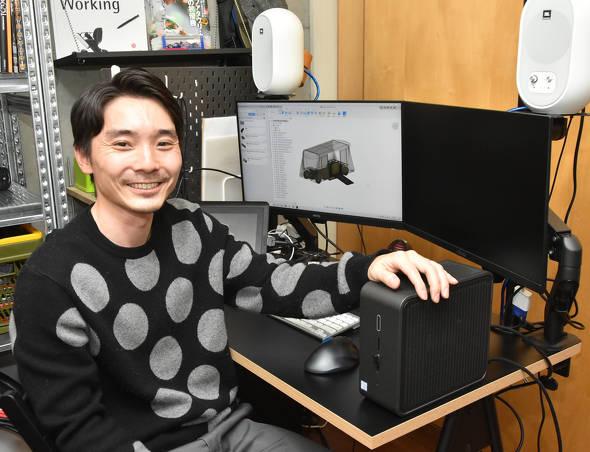 「Intel NUC 9 Pro」が設計者のスタンダードになり得ると評価する平田氏