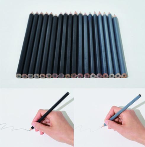「質感認識する鉛筆」(作者:Soh YunPing氏)