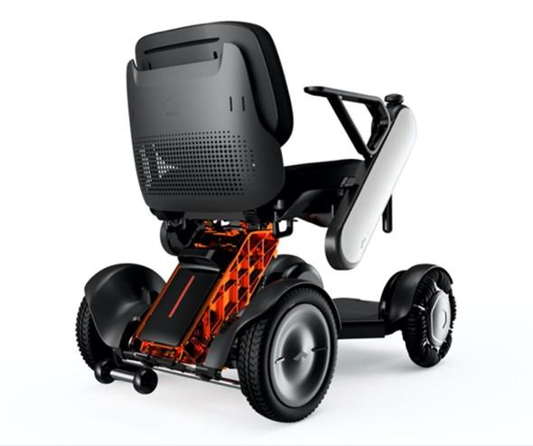 Fusion 360で作成されたモジュール式車椅子「WHILL」