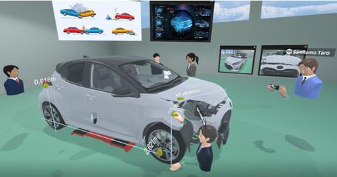 「VR事故車損害調査研修」の実施イメージ