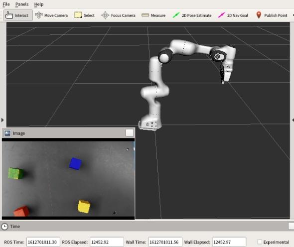 Isaac Simのカメラ情報をRViz上に表示