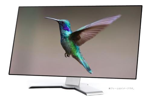 「OLEDIO」ブランドの有機ELディスプレイパネルを用いたモニターのイメージ