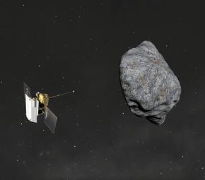小惑星「リュウグウ」から帰還し、サンプルを持ち帰ることに成功した「はやぶさ2」 ※出典:宇宙航空研究開発機構(JAXA)