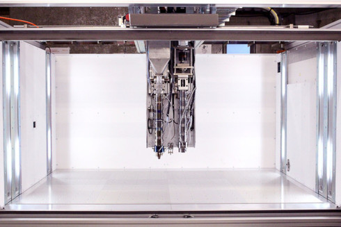 ExtraBoldが開発する超大型3Dプリンタ
