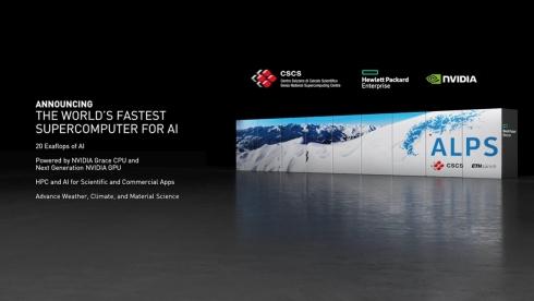 CSCSが計画しているスーパーコンピュータ「ALPS」