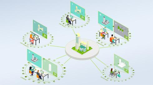 「NVIDIA Omniverse Enterprise」の利用イメージ