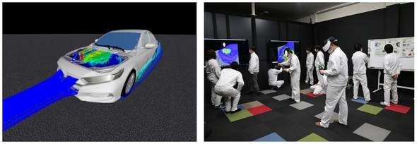 VRを用いたCAE結果レビュー