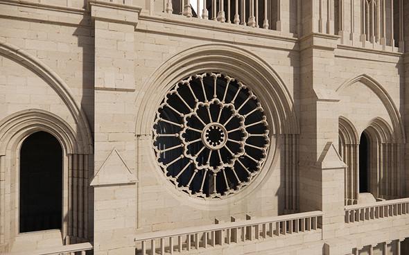 ノートルダム大聖堂の3Dモデル【3】