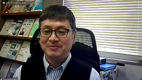 名古屋大学 大学院教授/フレンドマイクローブ CSOの堀克敏氏