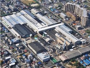日本軽金属の名古屋工場の外観