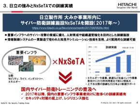 「NxSeTA」の訓練実績