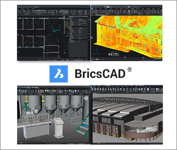 「BricsCAD」は2D−3D−BIM、メカ機能をワンプラットフォームで提供する
