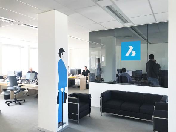ベルギーのゲントにあるBricsys社本社オフィス