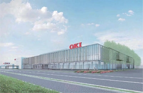 2022年4月に稼働する予定のOKI本庄工場の新工場