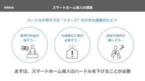 スマートホーム導入の課題