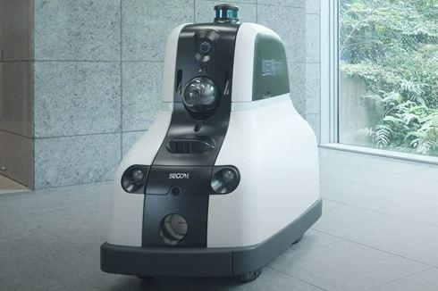 セコムが開発した新型セキュリティロボット「cocobo」