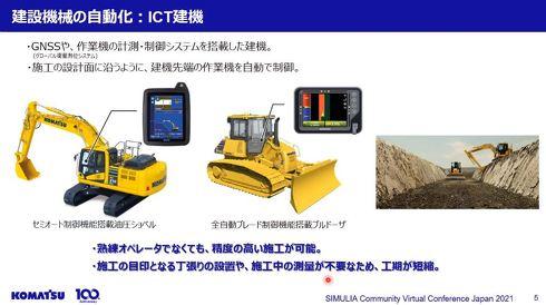 建設機械の自動化:ICT建機