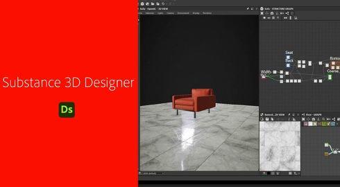 ノードベースの非破壊編集環境を備える「Substance 3D Designer」