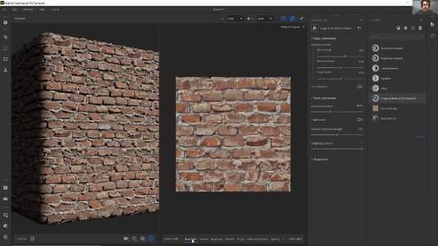 「Substance 3D Sampler」の画面イメージ
