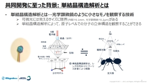 X線単結晶構造解析