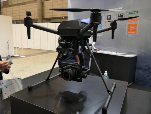 ソニーの業務用ドローン「Airpeak S1」