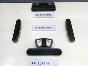 5台のステレオカメラ