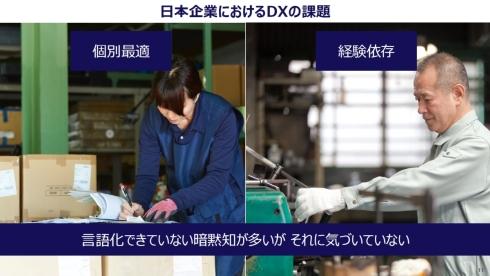 日本企業におけるDXの課題