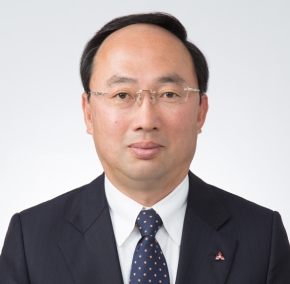三菱電機の新社長に就任した漆間啓氏
