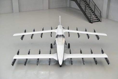 テトラ・アビエーションが開発したeVTOLの最新機「Mk-5」