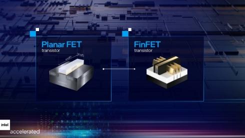 トランジスタの構造が異なる
